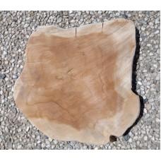 Rustiek Teak houten bordje